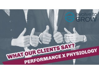 What our clients say   Evolve to Grow