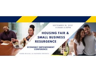 September 18, 2021 Free Community Housing Fair and Business Resurgence Event