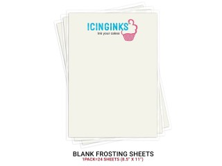 Premium Quality Edible Frosting Sheets For Professional Cake Decorators: Icinginks Sugar Sheets