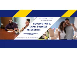November 06, 2021 Free Community Housing Fair and Business Resurgence Event