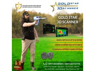 Gold Star 3D Scanner - Versatile Metal Detector with 3 Search Systems