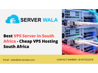 Best VPS server in south Africa - Cheap VPS Hosting South Africa