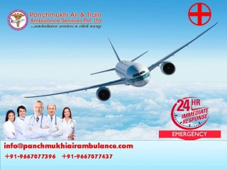 Ensure Safe and Swift Air Ambulance Service in Indore