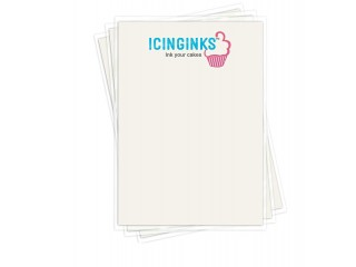 The Right Wafer Sheet For Every Cake Topper: Icinginks Wafer Paper For Cake Decorations