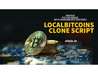 LocalBitcoins clone script to start a crypto exchange