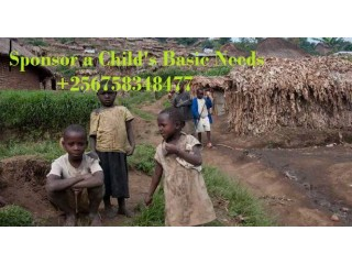 256758348477Sponsor a Child's Basic Needs