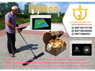 Fusion 3D metal detector Available at golden detectorFusion 3D metal detector Available at golden detector