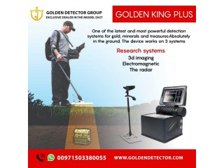 New metal detector Golden king plus