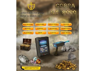 Available now Cobra Gx 8000 multi-systems metal detector