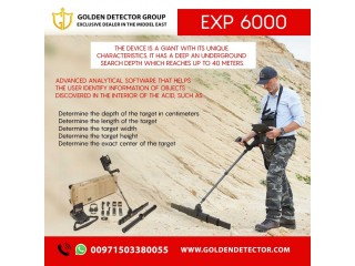 OKM EXP 6000 Professional Plus Metal Detector