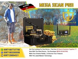 Gold Metal Detector Mega Scan Pro 2020