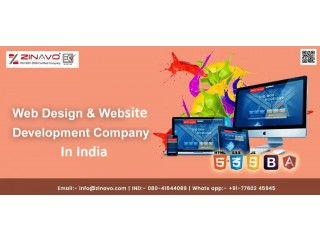 Web Design & Website Development Company in India