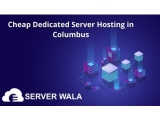 Cheap Dedicated Server Hosting in Columbus