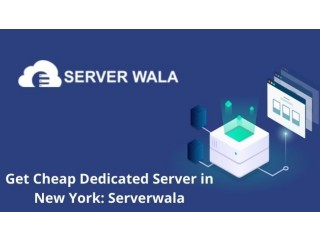 Get Cheap Dedicated Server in New York: Serverwala