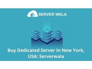 Buy Dedicated Server in New York, USA: Serverwala