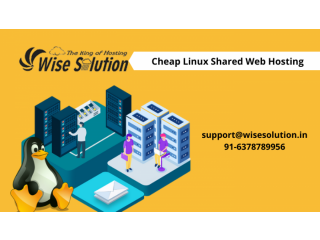 Get cheap Linux Shared hosting with 100% uptime guarantee