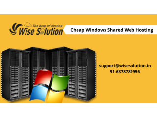 Get cheap Windows Shared hosting with 100% uptime guarantee