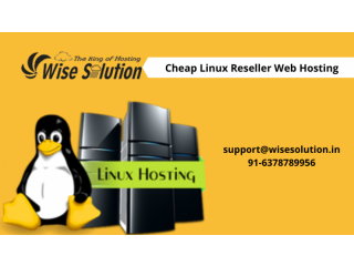 Get cheap Linux reseller hosting with 100% uptime guarantee