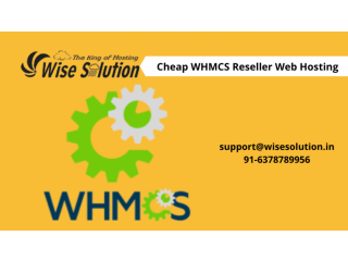 Get cheap WHMCS reseller hosting with 100% uptime guarantee