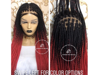 Braid lace front
