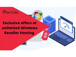 Exclusive offers at wisesolution WHMCS Reseller Hosting