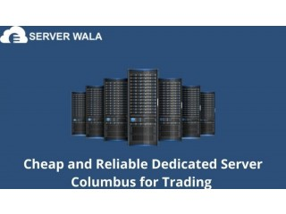 Cheap and Reliable Dedicated Server Columbus for Trading