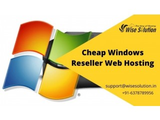Cheap Windows Reseller Hosting with advanced features