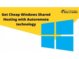Get Cheap Windows Shared Hosting with Autoremote technology