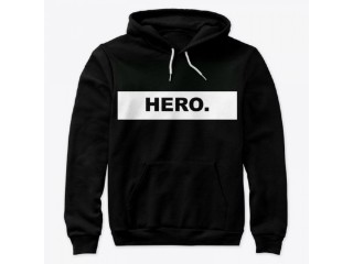 Buy Hoodie, Eco-Unix hoodie with the campaign embrace the hero inside