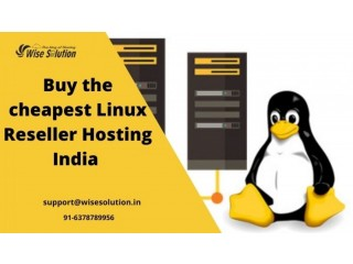 Buy the cheapest linux reseller hosting India at Wisesolution