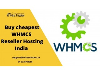 Buy the cheapest reseller hosting with WHMCS India at Wisesolution
