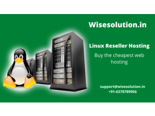 Rock-Solid Security with Linux Reseller Hosting at Wisesolution