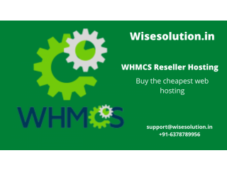 Grow your business with wisesolution WHMCS Reseller Hosting