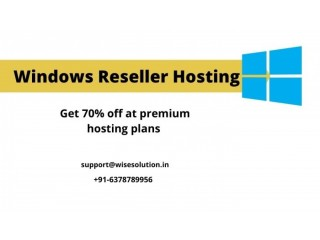Get the 70% off on premium Windows Reseller Hosting plans