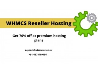 Get the 70% off on premium WHMCS Reseller Hosting plans