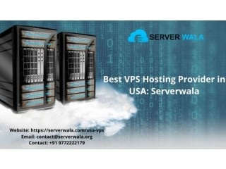 Best VPS Hosting Provider in USA: Serverwala