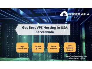 Get Best VPS Hosting in USA: Serverwala