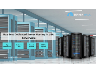 Buy Best Dedicated Server Hosting in USA: Serverwala