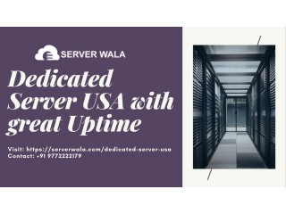 Dedicated Server USA with great Uptime