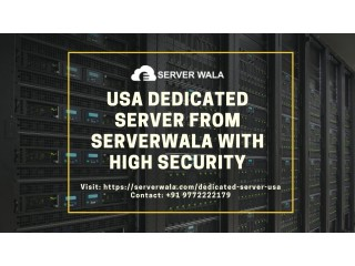 USA Dedicated Server from Serverwala with High Security