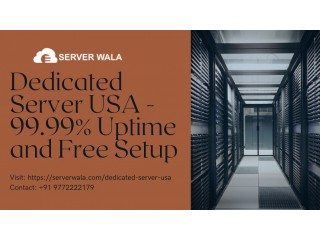 Dedicated Server USA - 99.99% Uptime and Free Setup