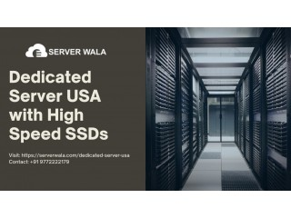 Dedicated Server USA with High Speed SSDs