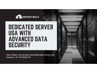 Dedicated Server USA with Advanced Data Security