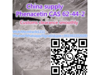 China supply Phenacetin 62-44-2 with safe delivery ,whatsapp:+8615613320284